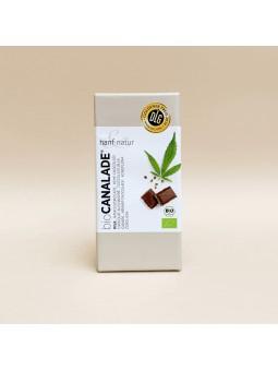 Chocolat au lait au chanvre CBD