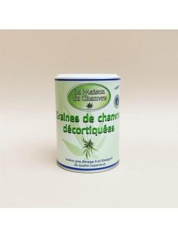 Graines de chanvre décortiquées - La Maison Du Chanvre