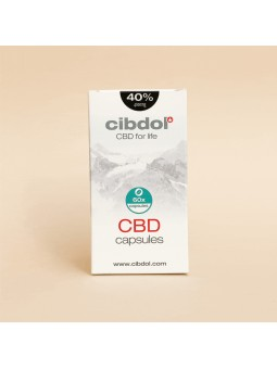 Capsules 40% CBD - Cibdol