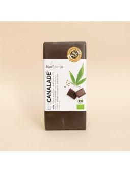 Chocolat noir au chanvre CBD