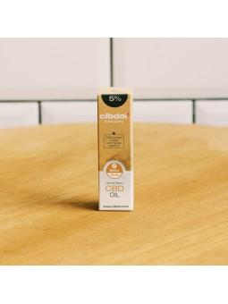 Huile de CBD 5% - Cibdol - 10ML - base huile de chanvre