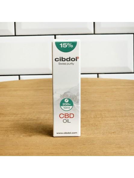 Huile de CBD 15% - Cibdol - 10ML