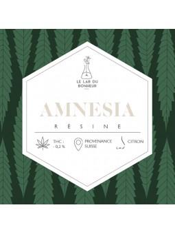 Résine de CBD - Amnesia  CBD