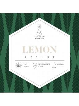 Résine de CBD - La Lemon  CBD
