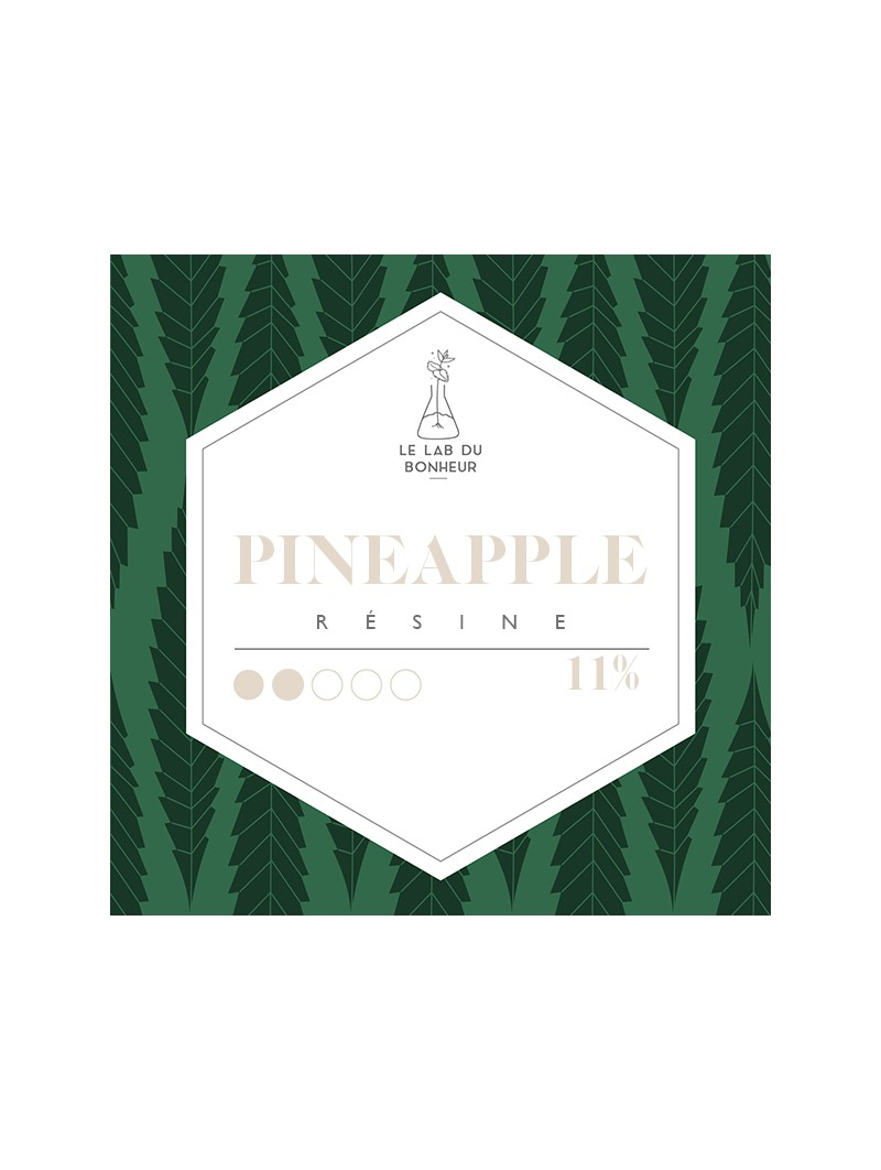 Résine de CBD - La Pineapple  CBD