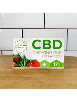 Chewing-gum au CBD - goût fraise CBD