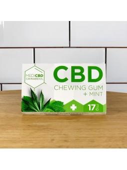 Chewing-gum au CBD - goût menthe CBD