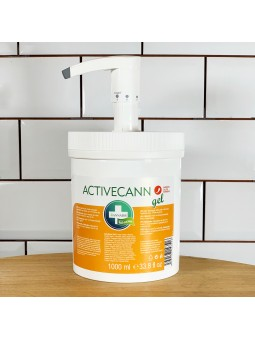 Gel de massage chaud Activecann - 1000 ml - Annabis