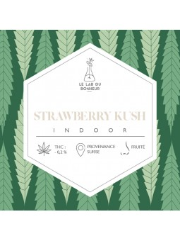 Fleurs de CBD - La Strawberry Kush  CBD