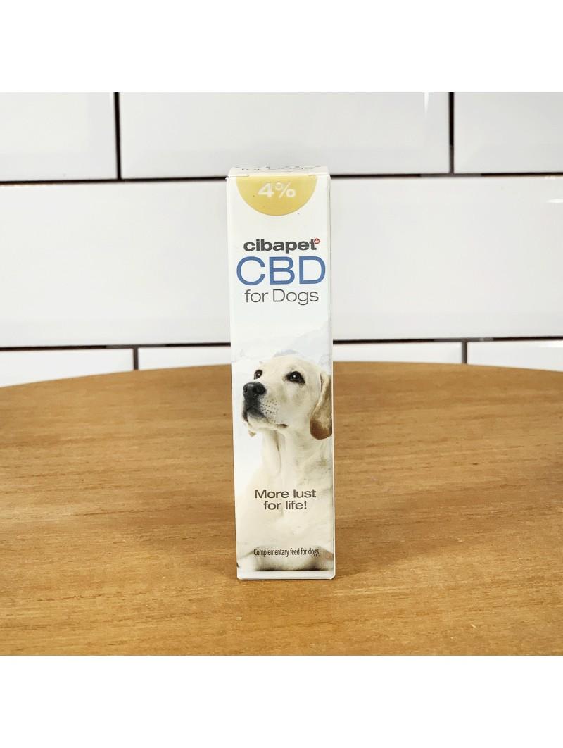 Huile de CBD 4% pour chiens - Cibapet