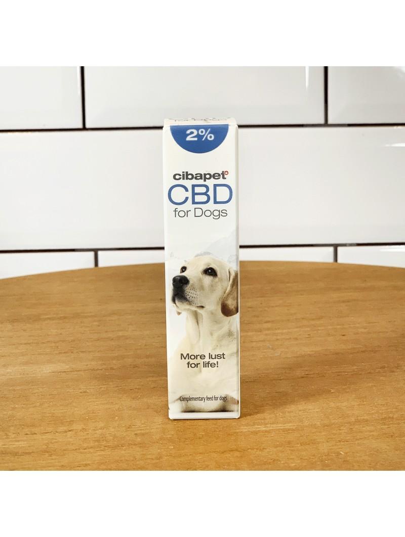 Huile de CBD 2% pour chiens