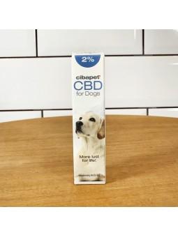 Huile de CBD 2% pour chiens - Cibapet