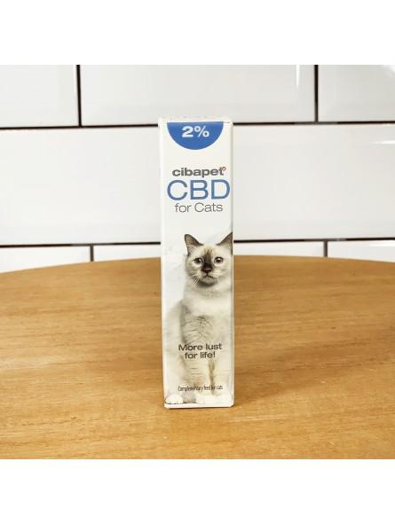 Huile de CBD 2% pour chats