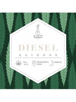 Fleurs de CBD - La Diesel outdoor  CBD