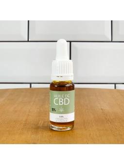 Huile de CBD 15% - Le Lab du Bonheur - base huile d'olive