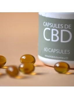 Capsules 20% CBD - Le Lab du Bonheur